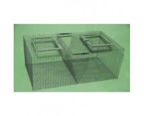 Клетка для кроликов 2-ух сек. Переносная.Маленькая