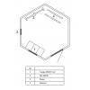 Проект курятника «Китеж шестигранный 2»